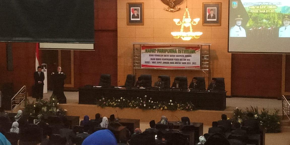 Pidato Perdana Bupati Jombang